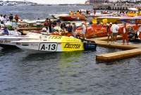 Team Exciter A-13 _ 24-foot Offshore v-bottom powerboat